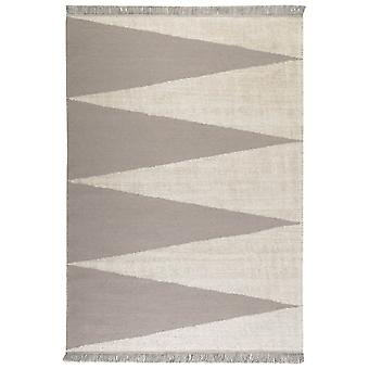 Smart Triangle Rugs 0002 02 By Carpets & Co In Grey And Beige