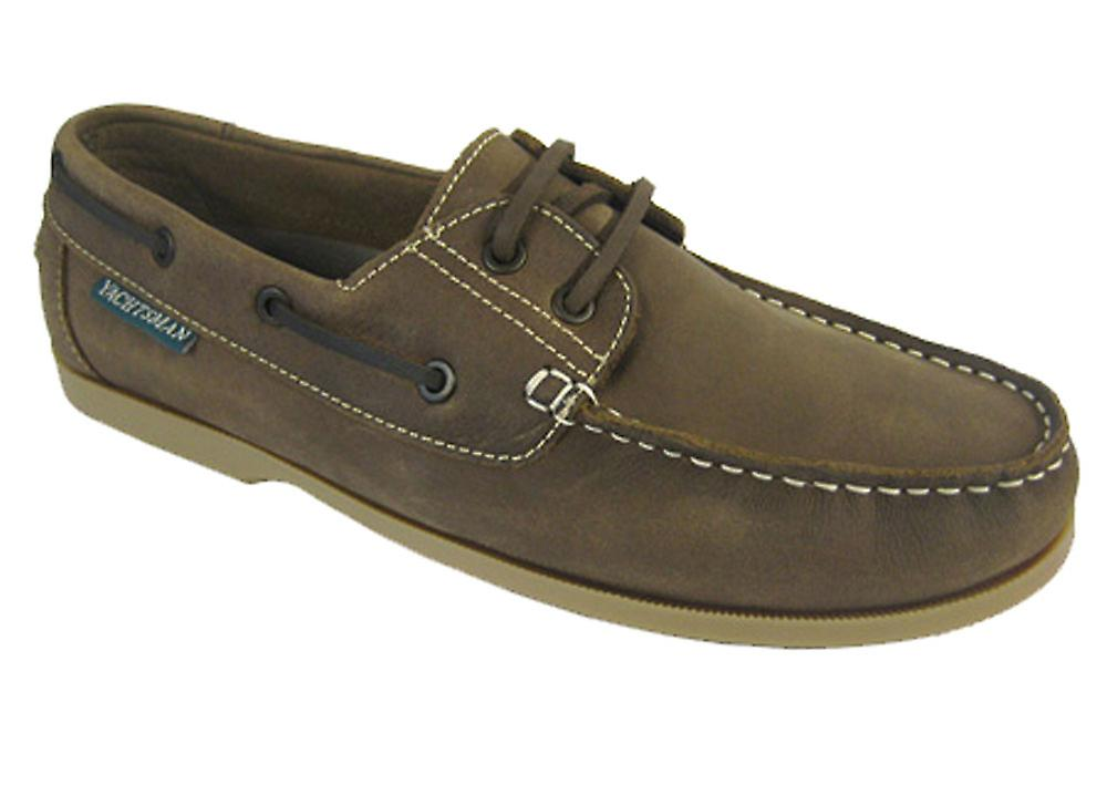 Shoes Traditional Leather Yachtsman Mens Deck Boat Real qRxqFgY8