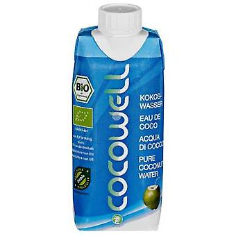 100% Natural Bio Cocowell container 1L Tetra Pack
