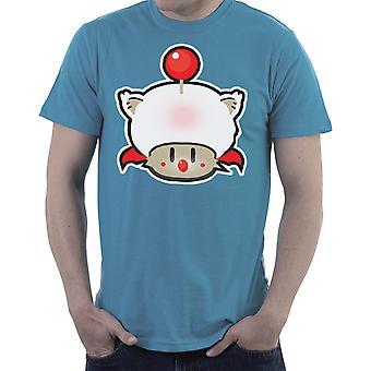 Super Mario Mushroom Kupo Moogle Final Fantasy Men's T-Shirt