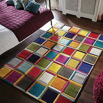 Espectro estilo vals MULTI rectángulo alfombras alfombras Funky