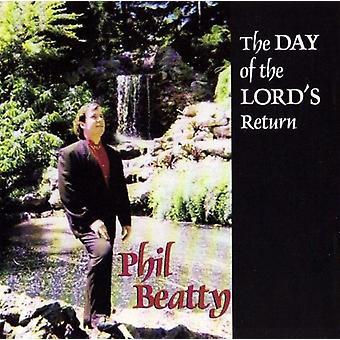 Phil Beatty - Herrens returdagen [CD] USA importerer