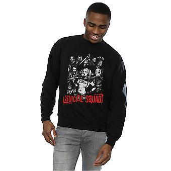 Camiseta de Harley Quinn Gang de suicidio Escuadrón los hombres