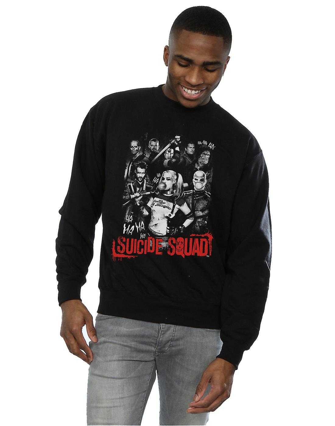 Harley Quinn Gang Sweatshirt Suicide Squad masculine