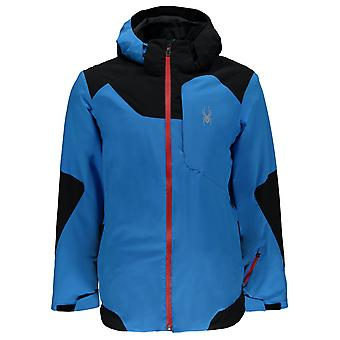 Spyder QUEST Chambers mens ski jacket french blue