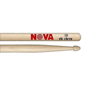 Vic Firth Drum Sticks - 5B Nova Drumsticks