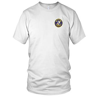 US Navy DDG-38 Luce Navy Embroidered Patch - Pride Knowlege Power Ladies T Shirt