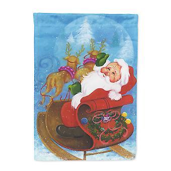 Weihnachten Weihnachtsmann gute Nacht kennzeichnen Leinwandgröße Haus