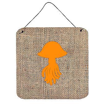جدار معدني الخيش قنديل البحر والألمنيوم البرتقال أو باب شنقاً يطبع BB1089