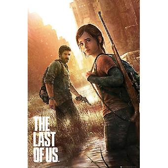 Last of Us Poster Poster Print