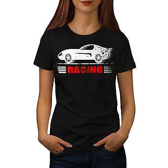 Hastighed Racing kvinder BlackT-skjorte | Wellcoda