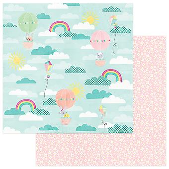 Easter Blessings Double-Sided Cardstock 12