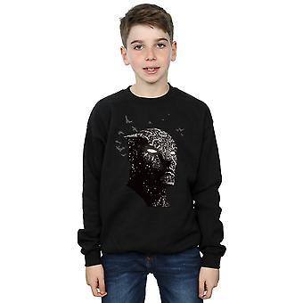 Marvel Boys Black Panther Crouching Sweatshirt