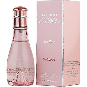 Cool Water Sea Rose By Davidoff Edt Spray 1.7 Oz
