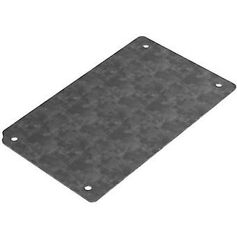 Mounting plate (L x W) 108 mm x 80 mm Steel plate Deltron Enclo