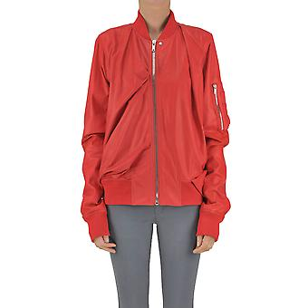 Rick Owens women's MCGLCSL03004E red leather jacket