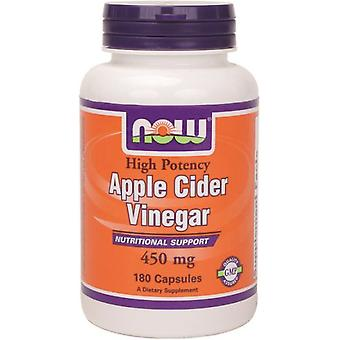 Now Foods Apple Cider Vinegar 450Mg 180 Capsules