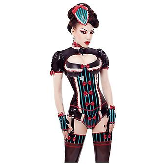 Westward Bound Lolly La Bomb Latex Rubber Corset.