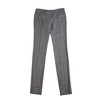 Miu Miu Women's Virgin Wool Trouser Pants Grey