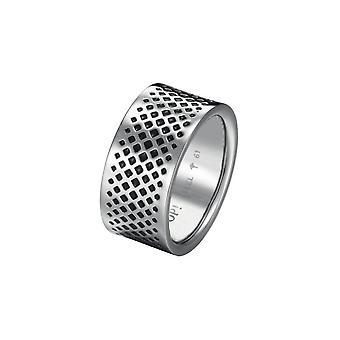 Joop men's ring stainless steel Silver / Black Ryan JPRG10606A