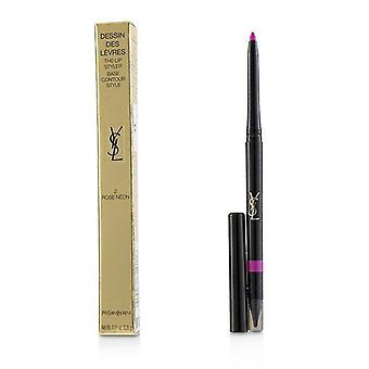 Yves Saint Laurent Dessin Des Levres The Lip Styler - # 2 Rose Neon - 0.35g/0.01oz