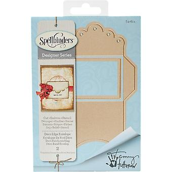 Spellbinders Shapeabilities Dies-Deco Edge Envelope
