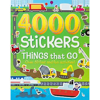 Parragon-4000 Stickers Things That Go