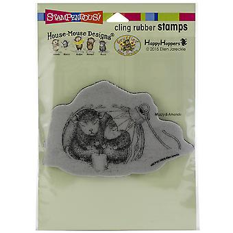 Stampendous House Mouse Cling Stamp-Ornament Warmth
