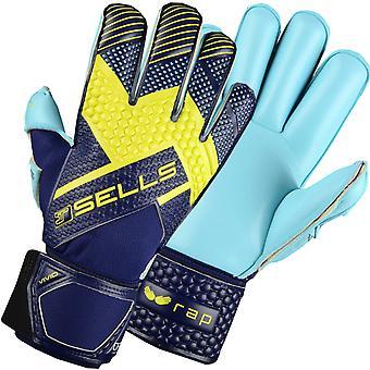 SELLS WRAP ILLUMINATE Goalkeeper Gloves Size