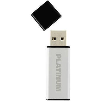 プラチナの 64 GB の USB スティック