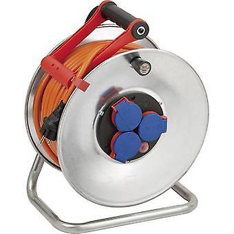 Brennenstuhl 1198470 Cable reel 40 m Orange PG plug