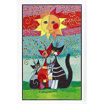 Rosina Wachtmeister doormat Momenti 75 x 120 cm Salon lion washable cat motif