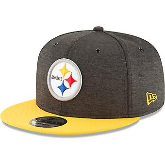 New era Snapback Cap - sideline home Pittsburgh Steelers