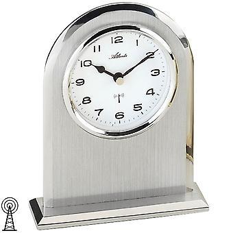 Tabel over uret matteret delvist sølv ur stil clock radio radio ur