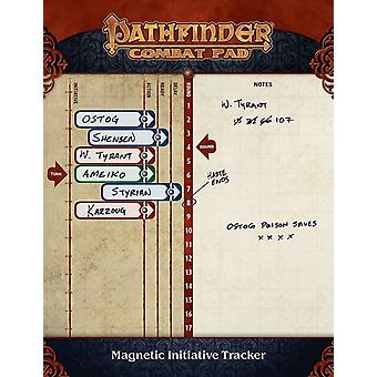 Pathfinder Combat Pad Magnetic Initiative Tracker - 2 Sheets of Magnets