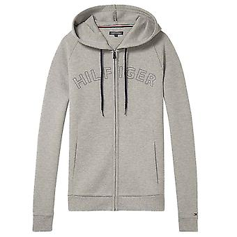 Tommy Hilfiger LS Hoody, Heather Grey, Small