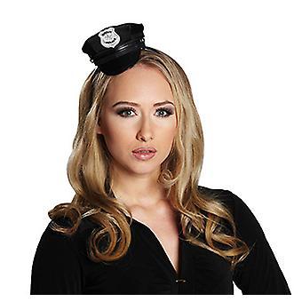 Police Cap hair mature