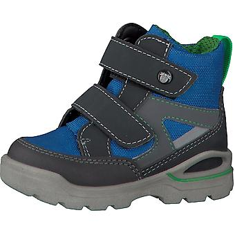 Ricosta Pepino Boys Friso Sympatex Waterproof Boots Grey Royal Blue