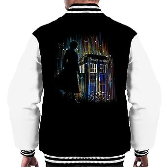 Doctor Who 13th Doctor Multicolour Men's Varsity Jacket