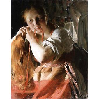 Margin, Anders Zorn, 78x 63.7 cm