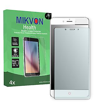 ZTE Nubia Z11 Max Screen Protector - Mikvon Health (Retail Package with accessories) (reduced foil)