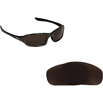 0beae604b4 Fives 4.0 Replacement Lenses Polarized Bronze Brown by SEEK fits OAKLEY