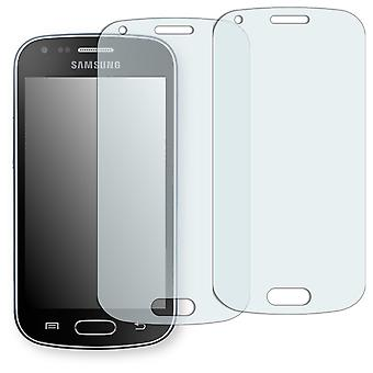 Samsung GT-S7580 display protector - Golebo crystal clear protection film