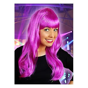 Wigs  Long wig with fringe purple