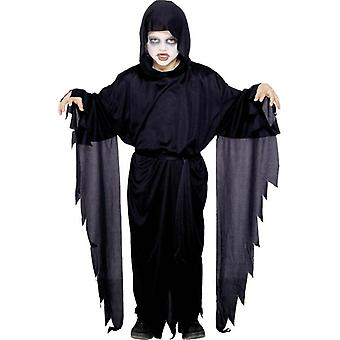 Screamer Ghost Robe, GIRLS Small Age 4-6
