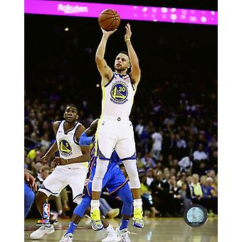Stephen Curry 2018-19 Action Photo Print