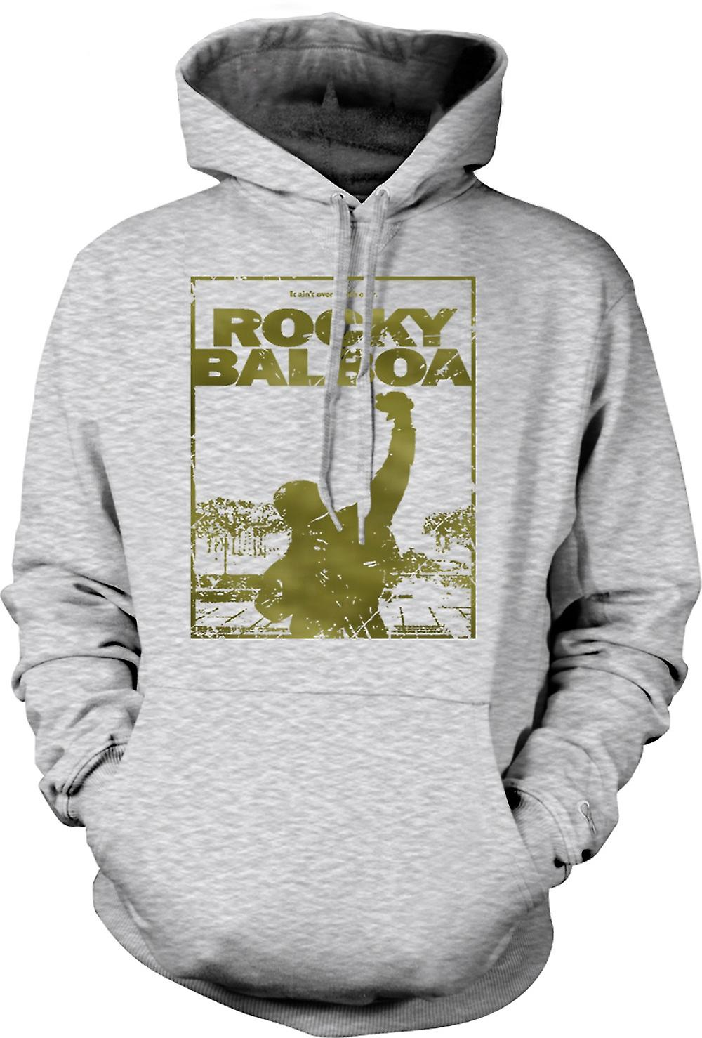 Mens Hoodie - Rocky Balboa Punch - Movie - Funny