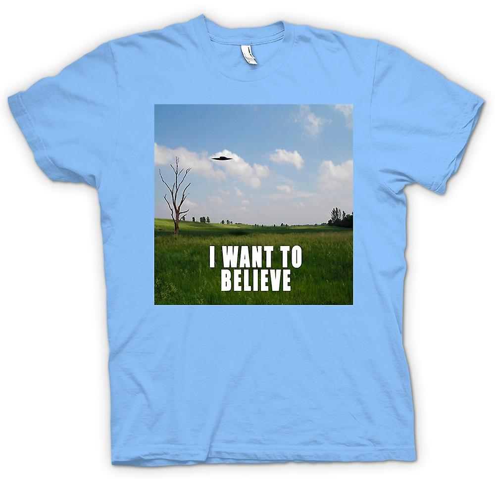 Mens T-shirt - I believe - Colour - Funny