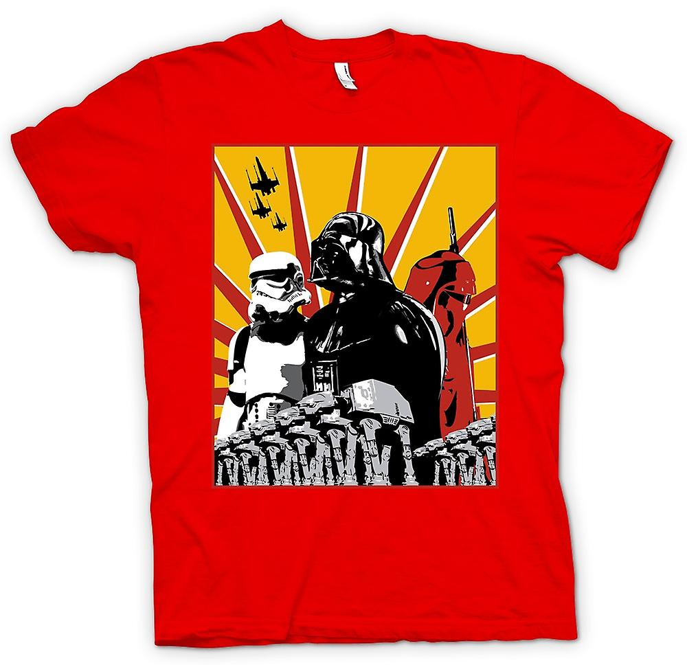 Mens T-shirt - Star Wars - Darth Vader & Storm Tropper
