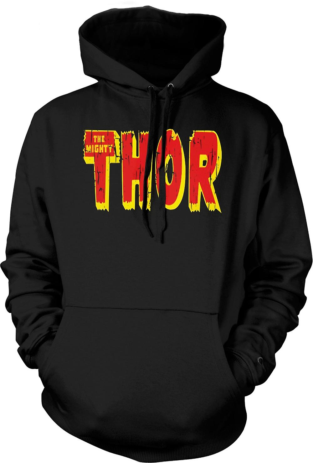 Mens Hoodie - The Mighty Thor Logo